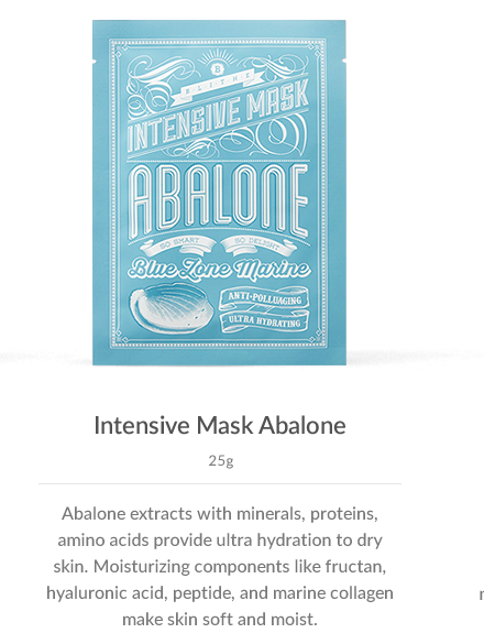 Special Care:Intensive Mask Abalone